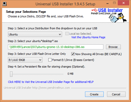 COME INSTALLARE LINUX IN UNA PENDRIVE USB