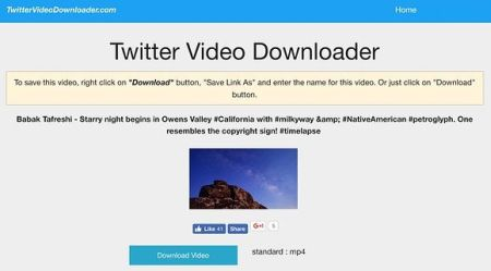 COME SCARICARE I VIDEO DA TWITTER