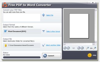 COME CONVERTIRE UN FILE PDF IN UN DOC