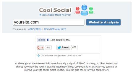 COME MISURARE LA POPOLARITA' DI UN SITO NEI SOCIAL NETWORK