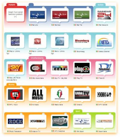 COME GUARDARE LA TELEVISIONE GRATUITAMENTE ON LINE