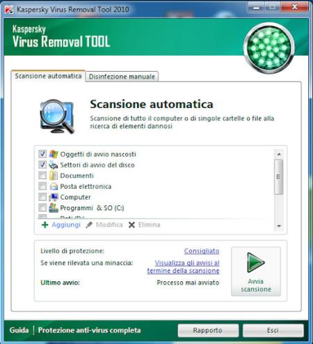 COME ESEGUIRE UNA SCANSIONE ANTIVIRUS IN UN COMPUTER INFETTO
