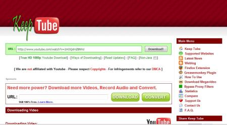 Come scaricare video da Youtube e Megavideo