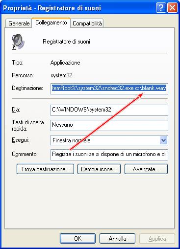 Come aumentare la durata del registratore di suoni di Windows