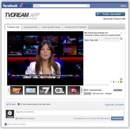 COME VEDERE TUTTA LA TV GRATIS SU FACEBOOK