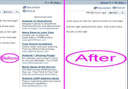 Come rimuovere la pubblicitò dalle caselle email