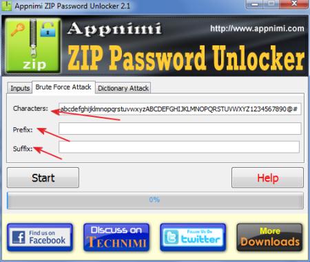 Guida a Zip Password Unlocker