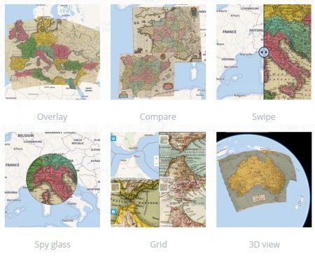 COME SOVRAPPORRE MAPPE STORICHE