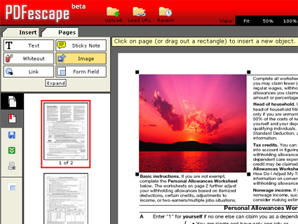COME CREARE E MODIFICARE FILE PDF ON LINE