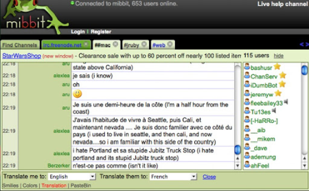 COME CHATTARE SU IRC DAL BROWSER