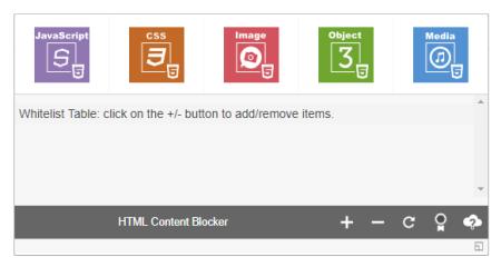 COME BLOCCARE SELETIVAMENTE I CONTENUTI HTML