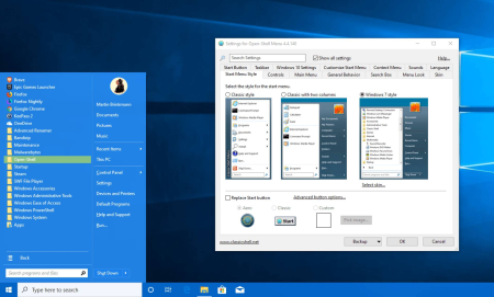 COME USARE IL MENU START DI WINDOWS 7 SU WINDOWS 10